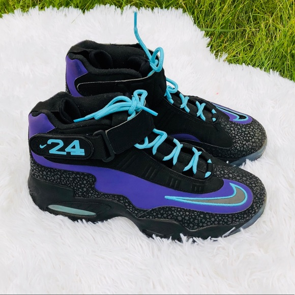 big sale 61755 d8ab6 Nike Air Griffey Max 1 Purple Venom Black-Polarize
